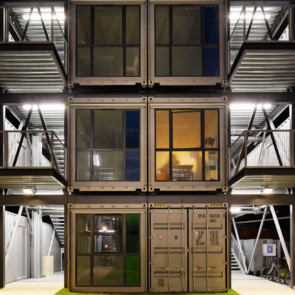 Shipping Container Apartment Building - Shipping Container Home ...