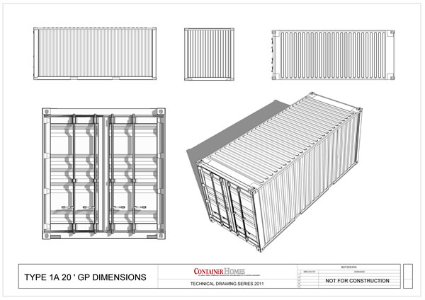 Free Shipping Container Technical Drawing Package Shipping Container Home Plans How To Plan Design And Build Your Own House Out Of Cargo Containers