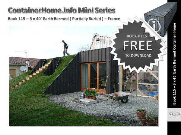 shipping container homes book series – book 115 - shipping