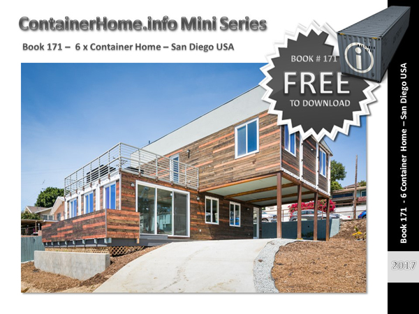 Shipping Container Homes Book Series – San Diego - Shipping